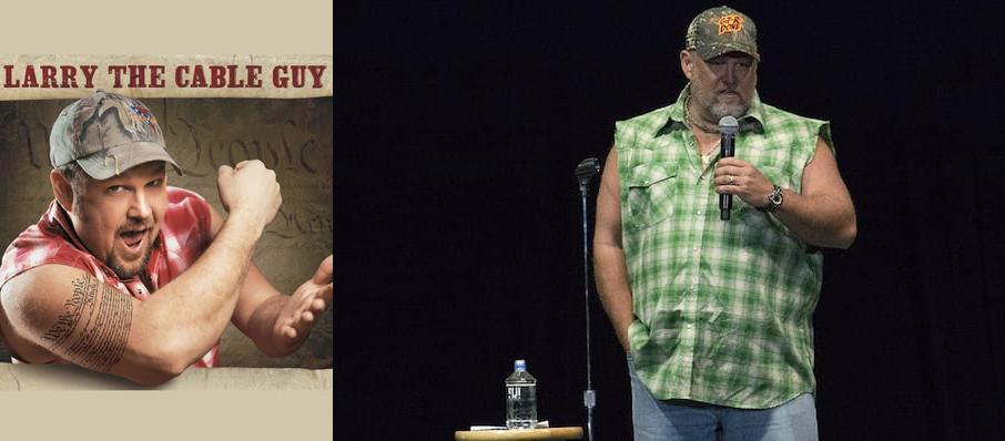 Larry The Cable Guy at Riverwind Casino