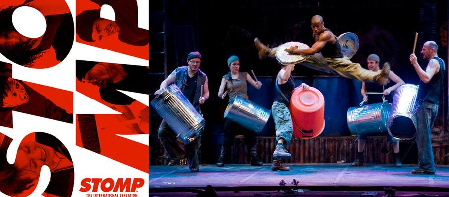 Stomp at Thelma Gaylord Performing Arts Theatre