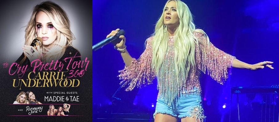 Carrie Underwood at Chesapeake Energy Arena