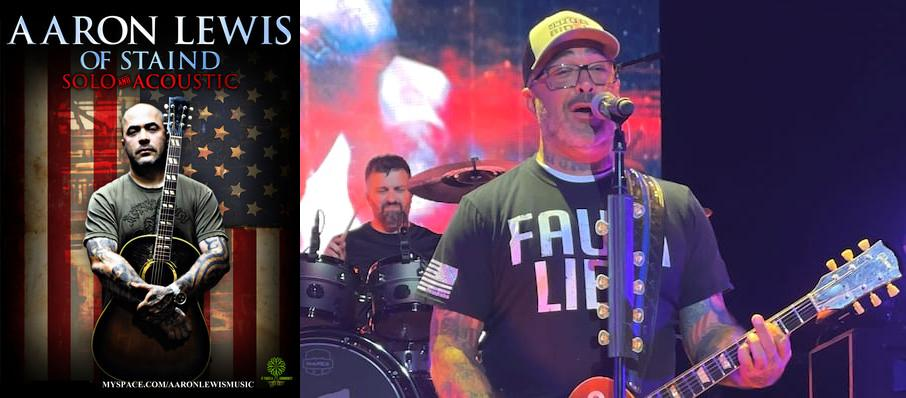 Aaron Lewis at The Criterion