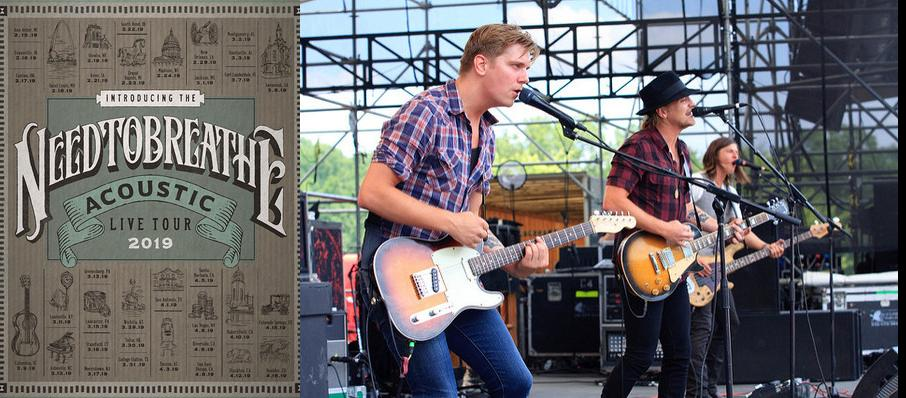 Needtobreathe at Oklahoma City Zoo Amphitheatre