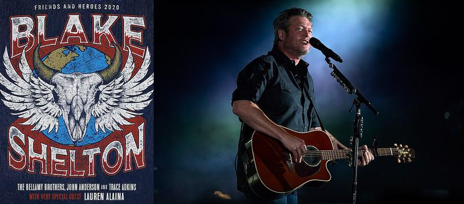 Blake Shelton at Chesapeake Energy Arena