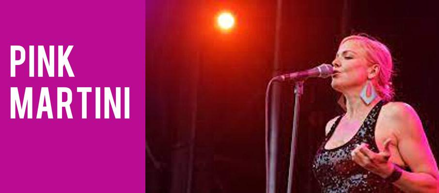 Pink Martini at Thelma Gaylord Performing Arts Theatre