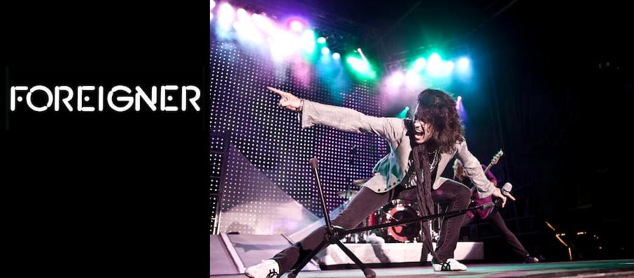 Foreigner at Riverwind Casino