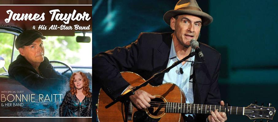 James Taylor & Bonnie Raitt at Chesapeake Energy Arena