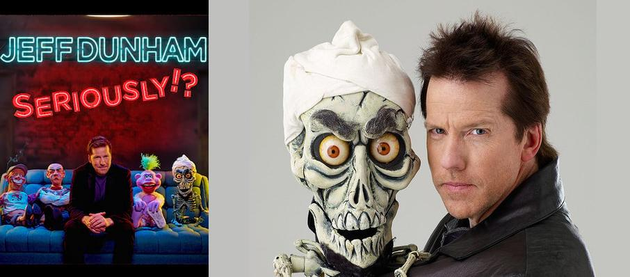 Jeff Dunham at Chesapeake Energy Arena