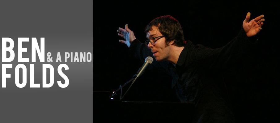 Ben Folds at Thelma Gaylord Performing Arts Theatre