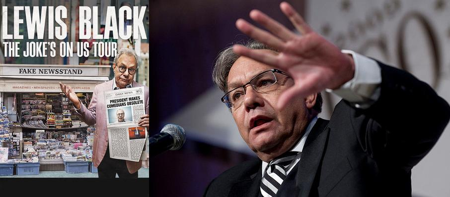 Lewis Black at Hudiburg Chevrolet Center