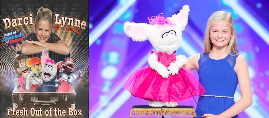 Darci Lynne at Thelma Gaylord Performing Arts Theatre