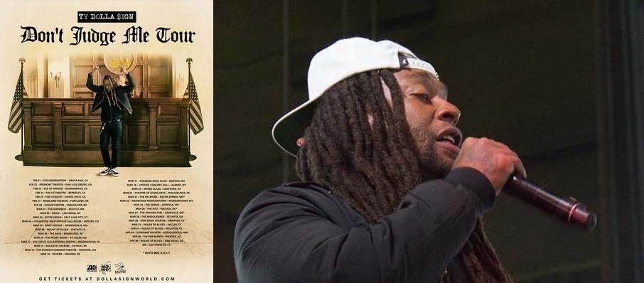 Ty Dolla Sign at Tower Theatre OKC