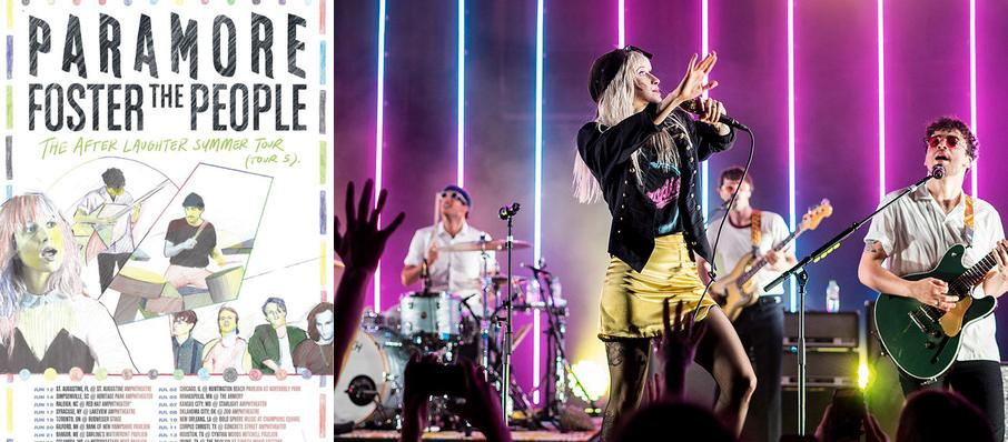 Paramore with Foster The People at Oklahoma City Zoo Amphitheatre