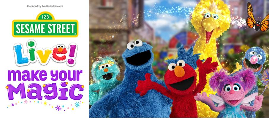 Sesame Street Live - Make Your Magic at Cox Convention Center