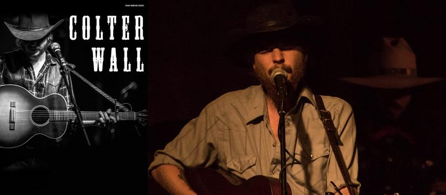 Colter Wall at Tower Theatre OKC