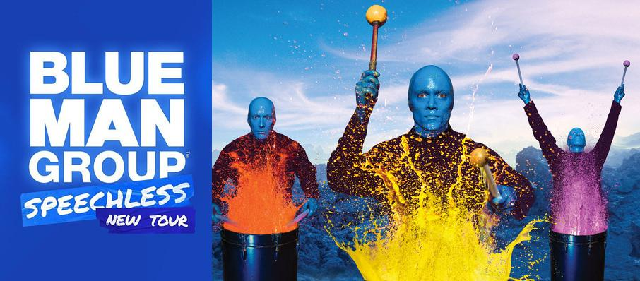 Blue Man Group at Thelma Gaylord Performing Arts Theatre