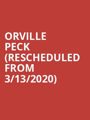Orville Peck (Rescheduled from 3/13/2020) at The Jones Assembly