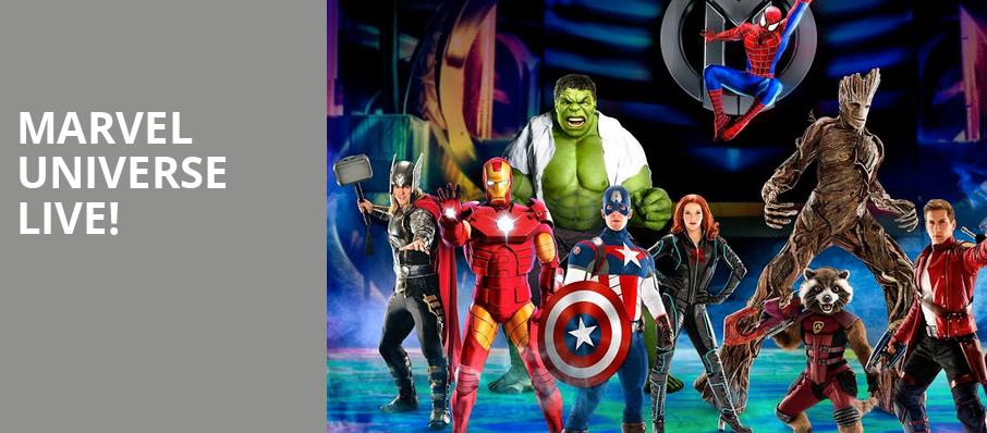 Marvel Universe Live, Chesapeake Energy Arena, Oklahoma City