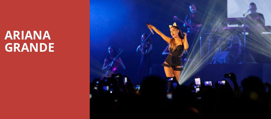 Ariana Grande, Chesapeake Energy Arena, Oklahoma City