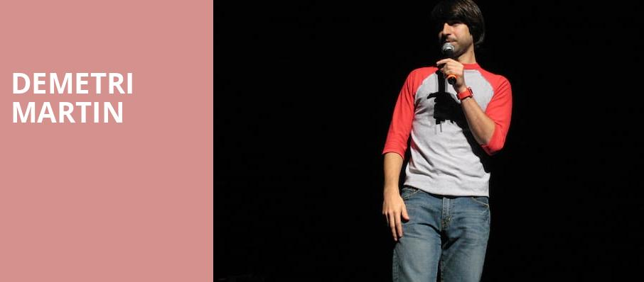 Demetri Martin, The Criterion, Oklahoma City