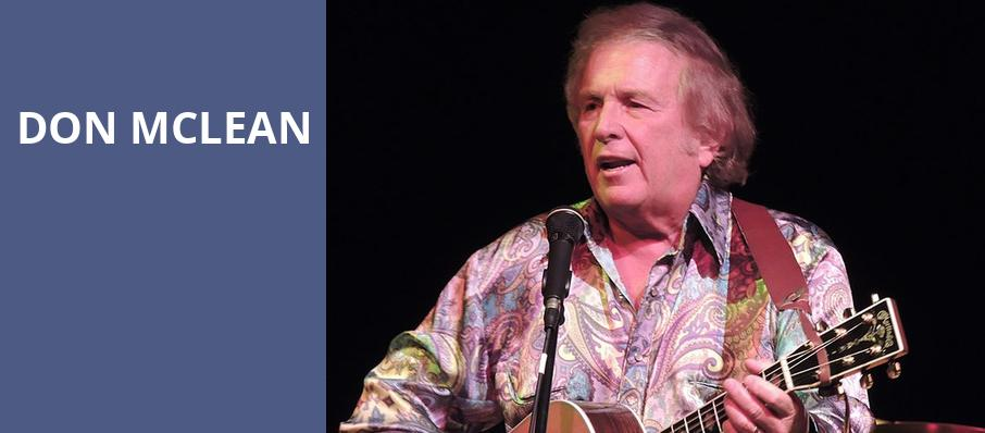 Don McLean, Tower Theatre OKC, Oklahoma City