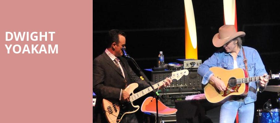 Dwight Yoakam, The Jones Assembly, Oklahoma City