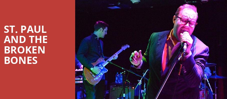 St Paul and The Broken Bones, The Jones Assembly, Oklahoma City