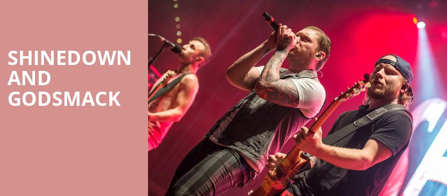Shinedown and Godsmack, Oklahoma City Zoo Amphitheatre, Oklahoma City