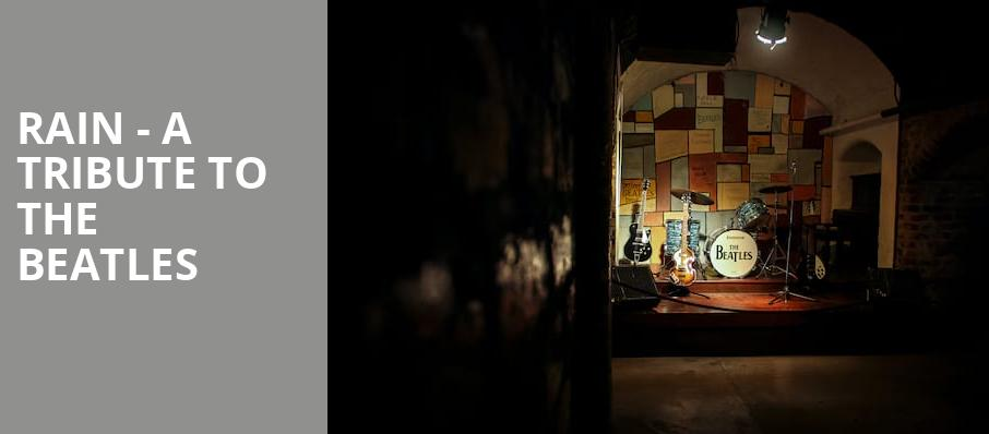 Rain A Tribute to the Beatles, Thelma Gaylord Performing Arts Theatre, Oklahoma City