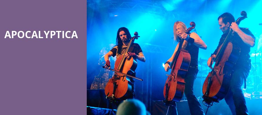 Apocalyptica, Tower Theatre OKC, Oklahoma City