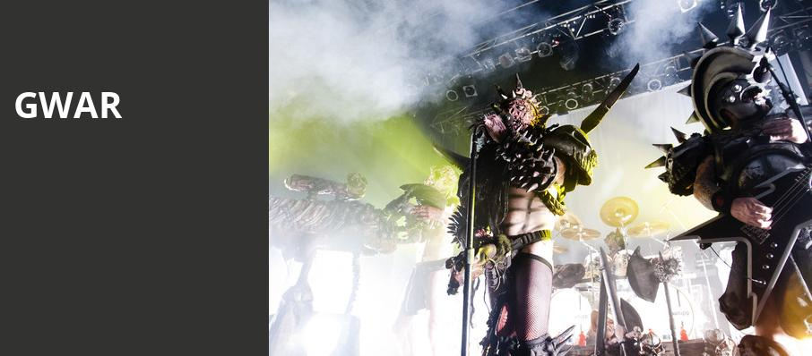 GWAR, Diamond Ballroom, Oklahoma City