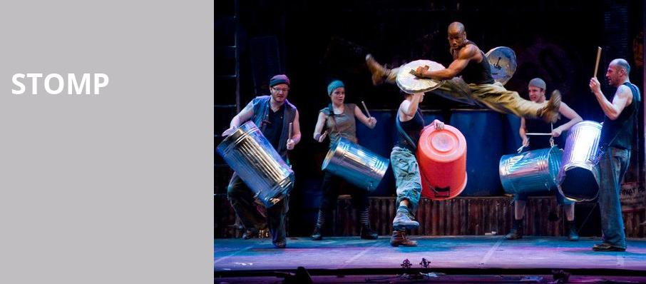 Stomp, Thelma Gaylord Performing Arts Theatre, Oklahoma City