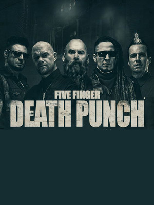 Five Finger Death Punch, Chesapeake Energy Arena, Oklahoma City