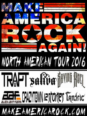 Make America Rock Again Trapt Saliva Saving Abel Alien Ant Farm Crazy Town 12 Stones Tantric, The Criterion, Oklahoma City
